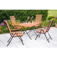 merxx Schlossgarten Set 5tlg., 5 Pos & rechteckiger Tisch