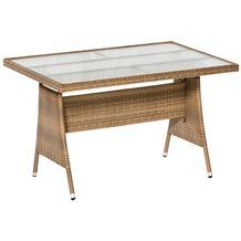 merxx Trentino Tisch, 120 x 80 cm, naturgrau Gartentisch