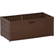 merxx Unterschiebbox 49 x 47 x 40 cm Braun Auflagenbox