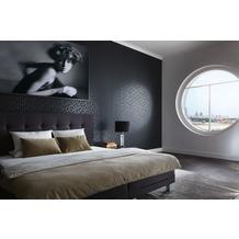 "Michalsky Living Mustertapete ""Berlin"", Vliestapete, grafisch, metallic, schwarz 10,05 m x 0,53 m"
