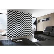 "Michalsky Living Mustertapete ""London"", Vliestapete, grafisch, schwarz, weiss 10,05 m x 0,53 m"