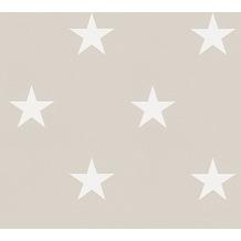 Michalsky Living Mustertapete High Rise Vliestapete grau weiß 10,05 m x 0,53 m