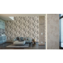 Michalsky Living Unitapete South Beach, Vliestapete, beige, creme 10,05 m x 0,53 m