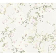Michalsky Living Vliestapete Dream Again Tapete floral creme grün rosa 10,05 m x 0,53 m