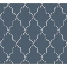 Michalsky Living Vliestapete Dream Again Tapete grafisch klassisch blau grün schwarz 10,05 m x 0,53 m