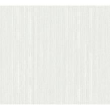 Michalsky Living Vliestapete Dream Again Tapete Unitapete weiß creme grau meliert 10,05 m x 0,53 m