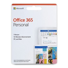 Microsoft Office 365 Personal, 1 Person, 12-Monats-Abonnement