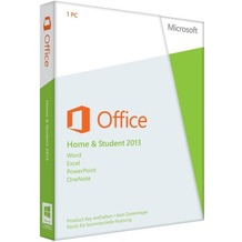 Microsoft Office Home and Student 2013 - 1PC (Product Key Card ohne Datenträger) für PC