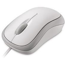 Microsoft Ready Mouse - weiß für PC