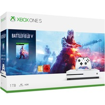 Microsoft XBox One S 1 TB + Battlefield 5: Deluxe Edition