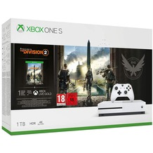 Microsoft XBox One S 1 TB + The Division 2
