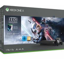 Microsoft Xbox One X 1TB, Star Wars Jedi: Fallen Order Bundle