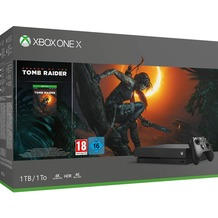 Microsoft Xbox One X, 1TB inkl. Shadow of the Tomb Raider