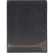 Mika Accessoires Geldbörse VI Leder 10 cm black