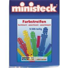 Ministeck Farbsteifen-Sortiment 9.500 Te