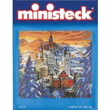 Ministeck Schloss Neuschwanstein ca.9500