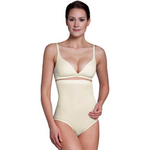 Miss Perfect Bauchweg Unterhose Body Shaper seamless Miederhose figurformend Champagner 2XL (46)