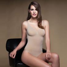 Miss Perfect Body Shape Body Bodyshaper Body Bauweg figurformend nahtlos & formend Haut L (42)