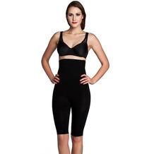 Miss Perfect Miederhose Body Shaper Bauchweg Unterhose Bodyshaper formend & kühlend Schwarz 2XL (46)