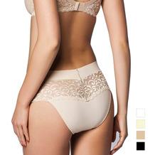 Miss Perfect Minimizer Rioslip Slip Spitze Unterhose Hipster Panty Hüftslip Haut L (42)