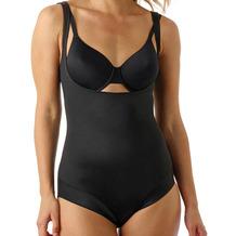 Miss Perfect TC Shapewear Damen - Bauchweg Body - Back Magic Firm Control Schwarz 2XL (46)