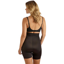 Miss Perfect TC Shapewear Damen - Miederhose Bauchweg Body Shaper - Tummy Tux Extra Firm Control Haut L (42)