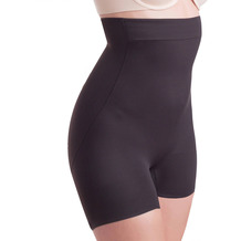Miss Perfect TC Shapewear Damen - Miederhose Bodyshaper - Luxurious Comfort Schwarz L (42)