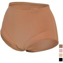 Miss Perfect TC Shapewear Damen - Seamless Miederhose Bauch weg - Light Control Braun L (42)