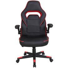Möbilia Bürostuhl, schwarz/rot schwarz/rot 14020001