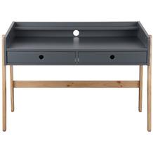 Möbilia Schreibtisch MDF, Pinie grau, natur 12020023