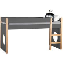 Möbilia Seitenpaneel, 2er-Set grau 12020020