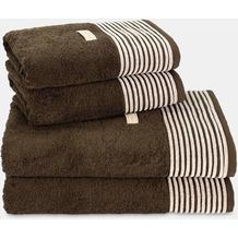 möve 4er Handtuch-Set Nature, 2x Handtuch 50 x 100 cm & 2x Duschtuch 67 x 140 cm java brown 2x Handtuch (50 x 100 cm) & 2x Duschtuch (67 x 140