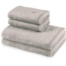 möve 4er Handtuch Set Superwuschel, 2x Handtuch 50 x 100 cm & 2x Duschtuch 80 x 150 cm cashmere Handtuch 50 x 100 cm & Duschtuch 80 x 150 cm