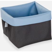 möve Aufbewahrungskörbe Two Tone grey/blue 15 x 15 x 15 cm