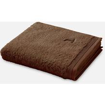 möve Badetuch Superwuschel java brown 100 x 160 cm