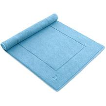 "möve Badteppich ""Basic"" aquamarine 60 x 100 cm"