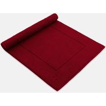 möve Badteppich Basic rubin 60 x 100 cm