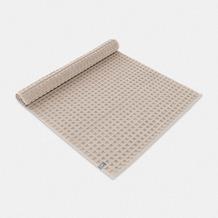 möve Badteppich Piquée mit Waffelstruktur cashmere 60 x 100 cm