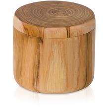 "möve Dose klein ""Teak"" wood"