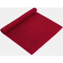 möve Duschvorlage Superwuschel rubin 50 x 70 cm