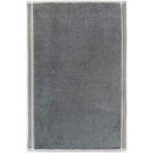 "möve Gästetuch ""Bohème"" grey/nature 50 x 30 cm"