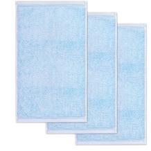 möve Gästetuch Superwuschel 3er-Pack aquamarine 30 x 50 cm