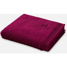 möve Handtuch Superwuschel berry 50 x 100 cm