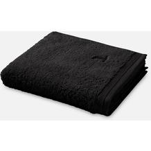 """möve Handtuch """"Superwuschel"""" black 50 x 100 cm"""