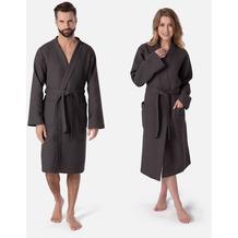 möve Homewear Kimono graphit L