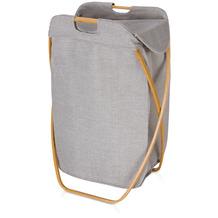 möve klappbarer Wäschekorb  Bamboo grey 39x46x66cm