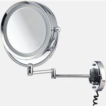 möve Kosmetik-Spiegel mit Schwenkarm Mirrors chrome Ø 22 cm