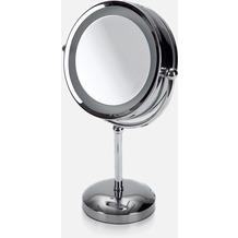 möve Kosmetikspiegel, beleuchtet Mirrors chrome Ø 22 x 42 cm