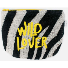 möve Kosmetiktasche Zebra black/ivory 19 x 15 cm