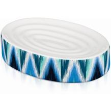 """möve Seifenschale, Keramik """"Ikat"""" blue"""